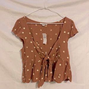 Babydoll blouse (American eagle)